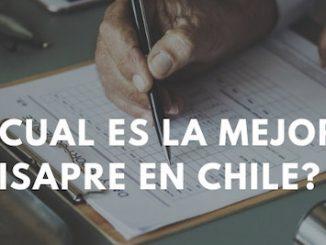 plan de salud Isapre en Chile